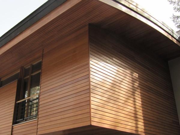 Облицовка дома деревом: фасадная доска