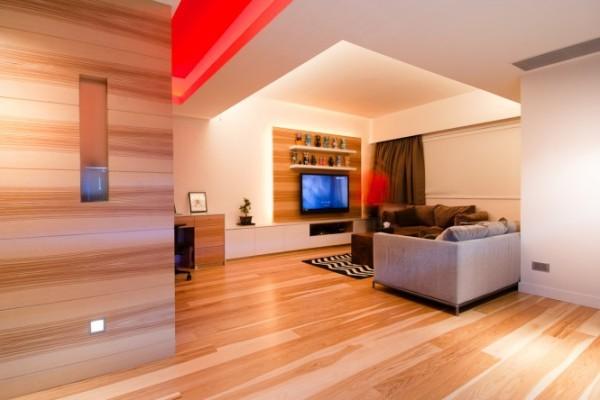 Облицовка стен деревом: отделка квартиры
