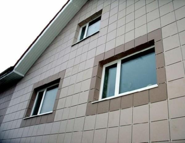 Облицовка стен керамогранит
