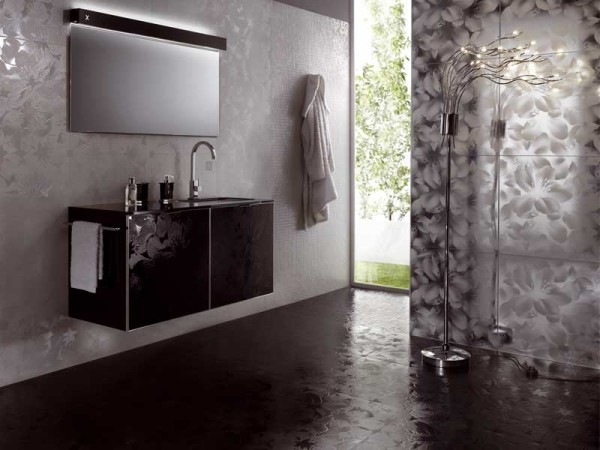 Облицовка ванной керамической плиткой: современный дизайн