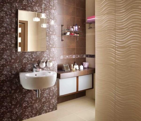 Облицовка ванны керамической плиткой нескольких видов