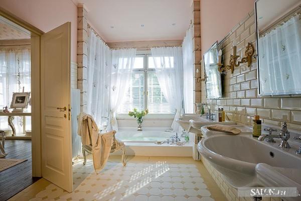 Плитка «кабанчик» в дизайне ванной комнаты