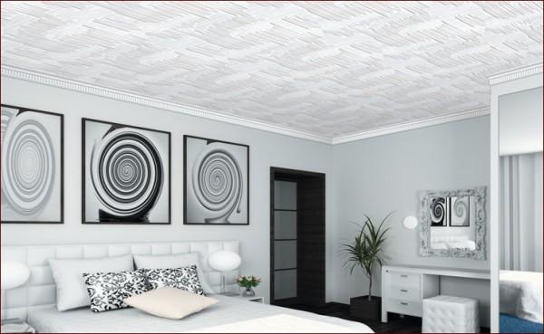 Потолочные плиты в интерьере