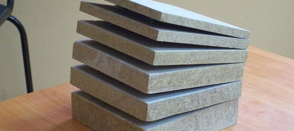 Цементно-стружечные плиты разной толщины