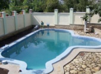 Варианты отделки уличных бассейнов