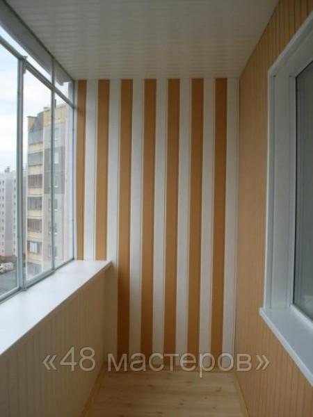 Облицовка пластиком балкона: практичность и приятный дизайн