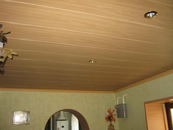 Пример фото оформления помещения материалом