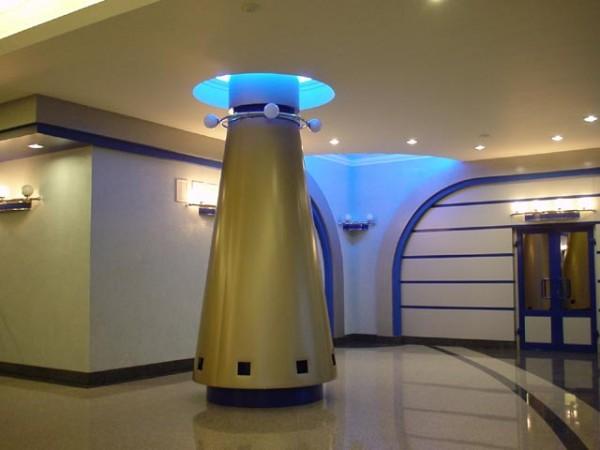 Дизайнерская колонна