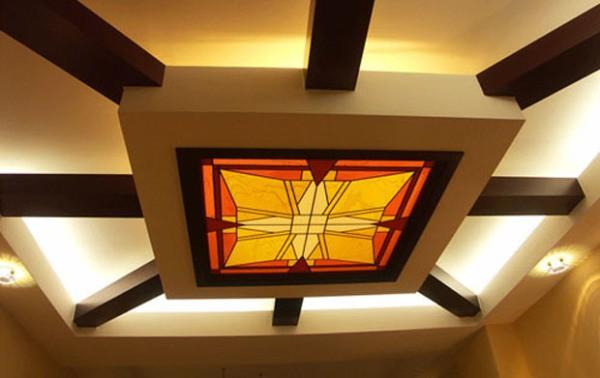 Качественная отделка потолка