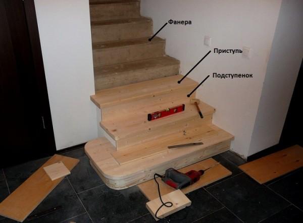 Отделочные работы с древесиной