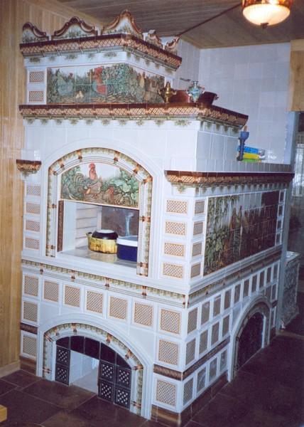 Печь в доме
