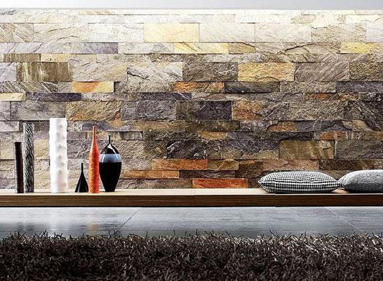 Фото натурального камня в интерьере