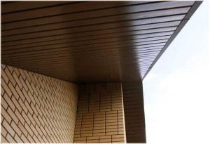 Без подшивки карнизов, крыша не будет иметь завершенного вида