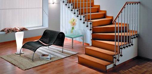 Перед строительством лестницы изначально продумывается её облицовка