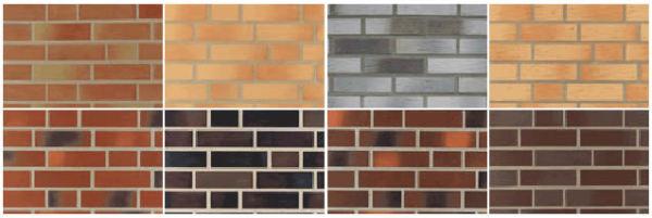 Плитка может имитировать кирпич или камень и иметь любой цвет и фактуру