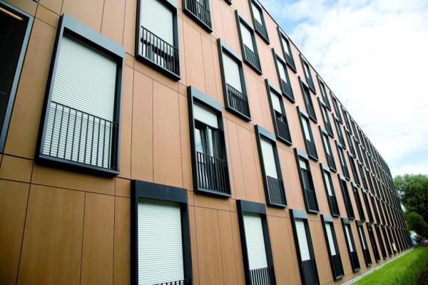 Фасадные древесно-полимерные панели