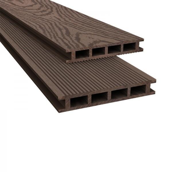 Композитная древесно-полимерная доска (декинг)
