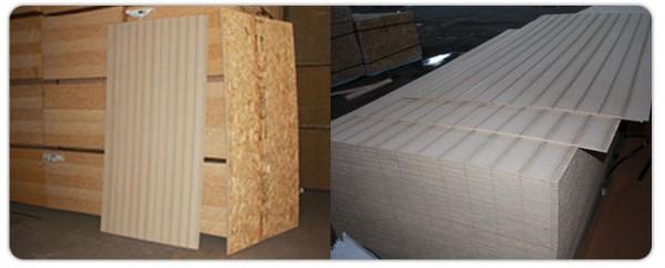 Многие производители выпускают панели с внешней декоративно-защитной отделкой