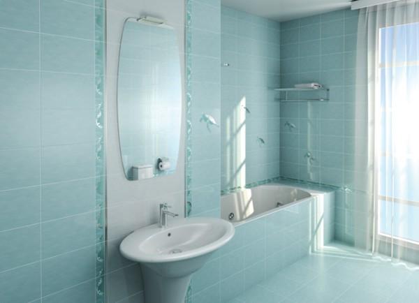 Облицовка ванной плиткой