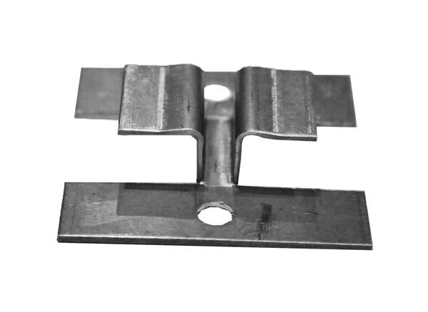 Соединение «краб» для фасадной доски с пазами