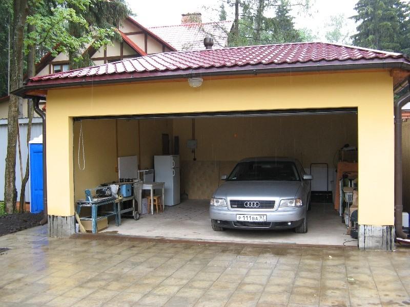 Построить гараж из сэндвич панелей своими руками
