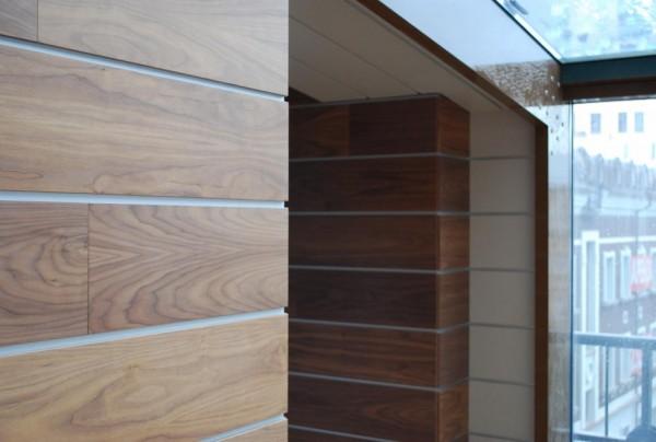 Панели облицованные шпоном невозможно отличить от деревянных