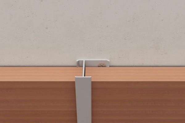 По картинке видно, что профили крепятся к стене или обрешетке, а панели просто вставляются в пазы