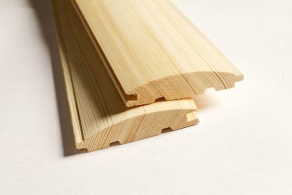 Вагонка деревянная: блок-хаус