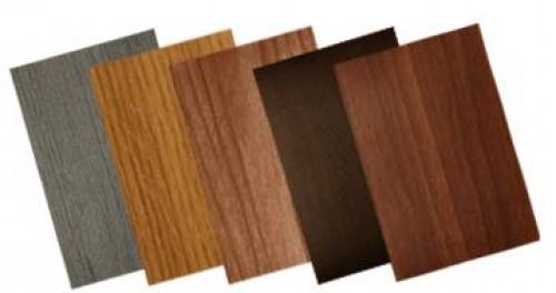 Варианты цветового решения пленки ПВХ