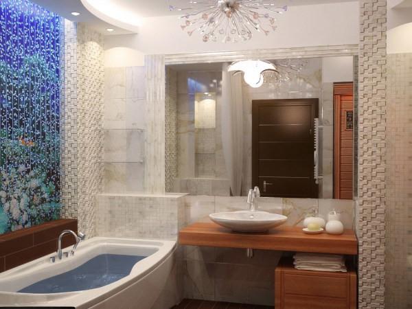 Воздушно-пузырьковые панели для облицовки ванной комнаты