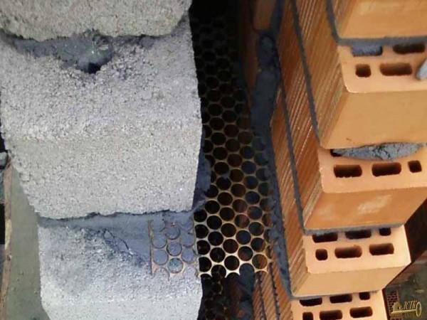 Анкерование с помощью стальной сетки