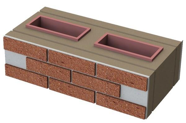 Блок из пеностекла теплоизоляционный