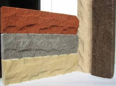 Фасадная облицовочная плитка под кирпич гиперпрессованная