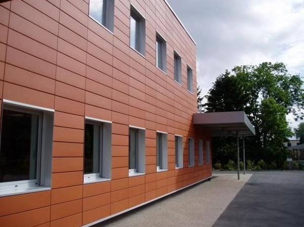 Керамическая фасадная плитка (терракота)