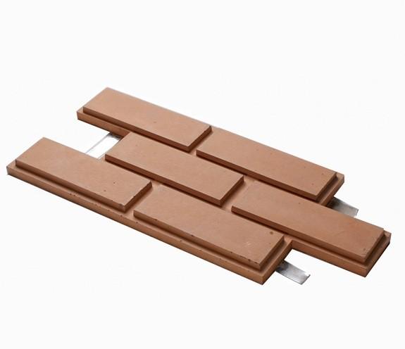 Модульная облицовочная плитка для фасадов под кирпич