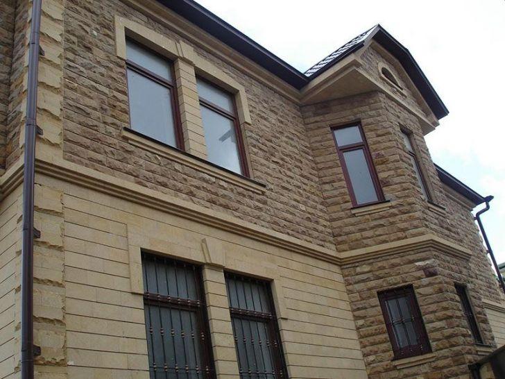 Отделка фасада дома из панелей фото