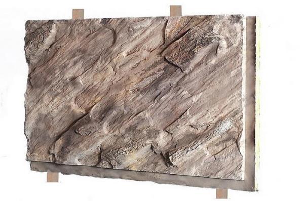 Плитка под камень из модифицированного бетона