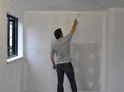 Подготовка гипсокартонных стен