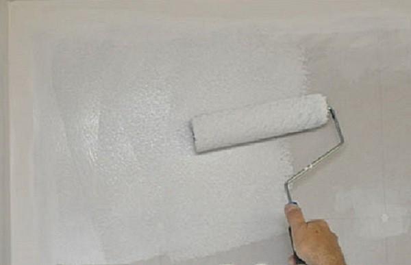 Грунтовка под покраску стен из гипсокартона