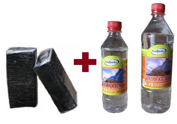 Исходные материалы для битумной грунтовки