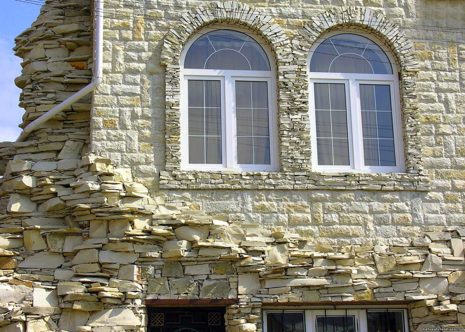 Облицовочный камень для фасада своими руками