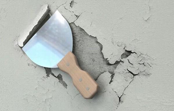 Осыпающиеся поверхности – ненадежное основание для краски