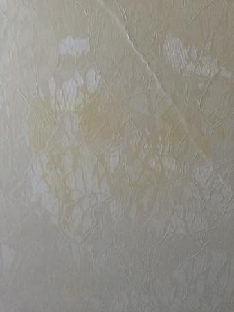 Желтые пятна на обоях – результат некачественной подготовки стен