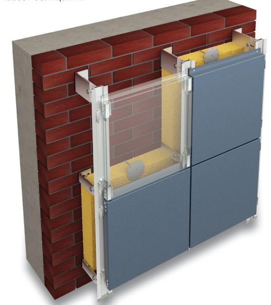 Типовая система вентилируемого фасада