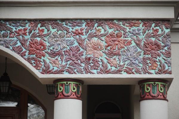 Фасадная декоративная керамика