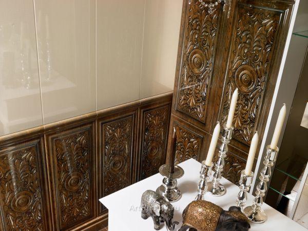 Керамическая плитка для наружной облицовки в дизайне интерьера гостиной