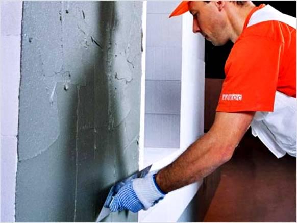 Шпаклевка стен по пенопласту под чистовую отделку
