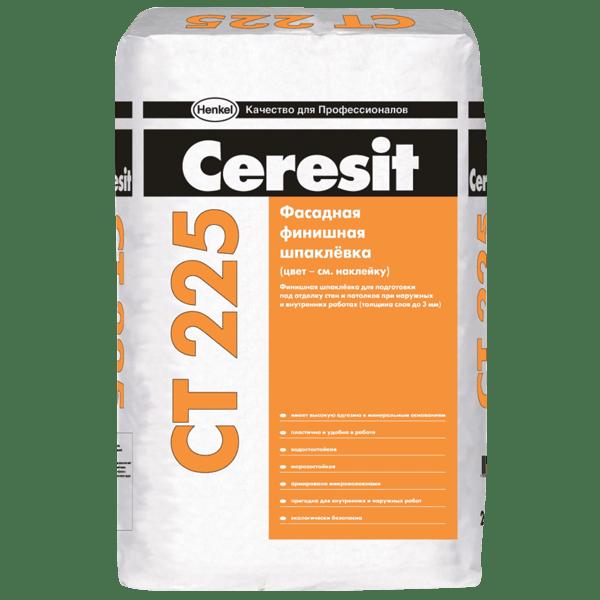 Церезит СТ225 – одна из самых качественных финишных шпаклевок