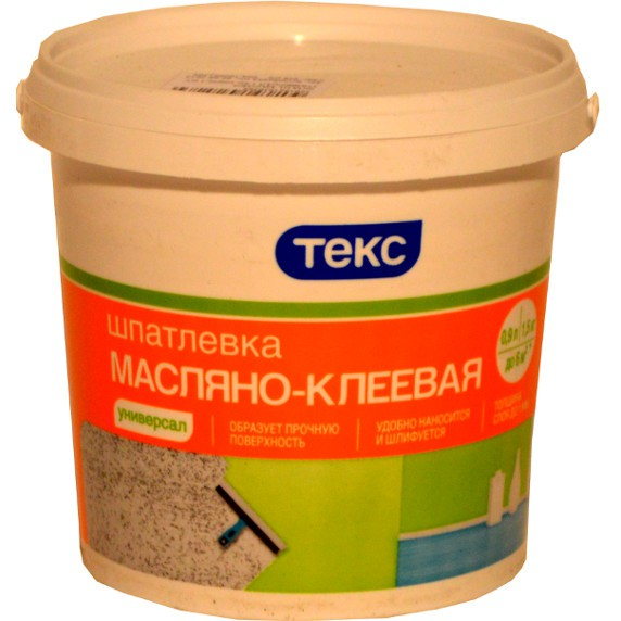 Универсальная масляно-клеевая шпатлевка