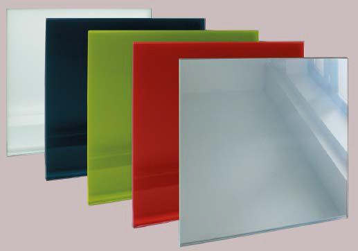 Пример панелей из стекла